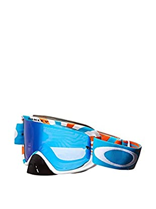 Oakley Skibrille 02 XM FLIGHT SERIES weiß/blau