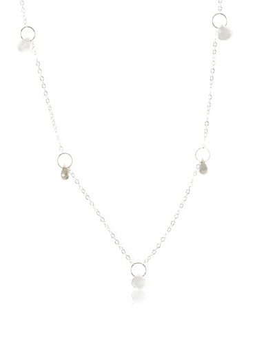 Melissa Joy Manning Labradorite & Moonstone Necklace