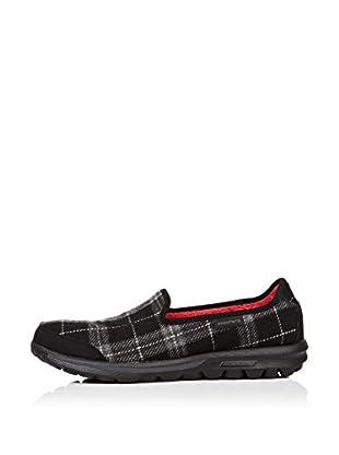 Skechers Zapatillas Go Walk - Sparky (Negro / Gris)