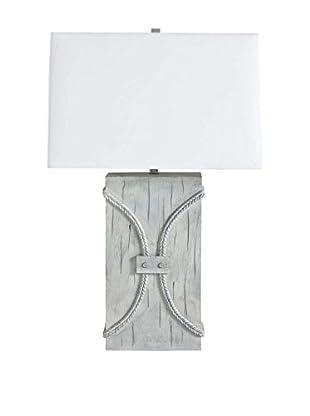 Mercana Tollentella 1-Light Table Lamp, White
