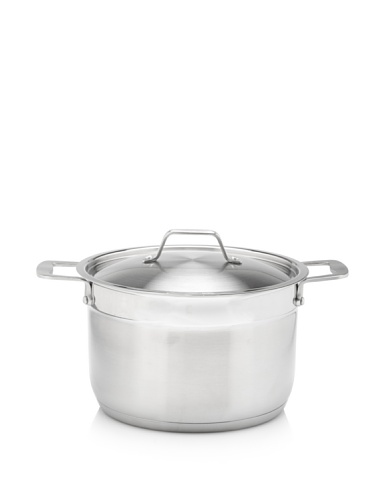 BergHOFF Earthchef Professional Stainless Steel 8-Quart Covered Stock Pot