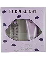 PURPLE LIGHT by Salvador Dali (WOMEN) PURPLE LIGHT-EDT SPRAY 1 OZ & BODY LOTION 3.4 OZ