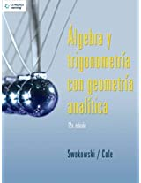 Algebra Y Trigonometria Con Geometria Analitica