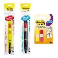 フラッグ フラッグ付ボールペン/蛍光ペン
