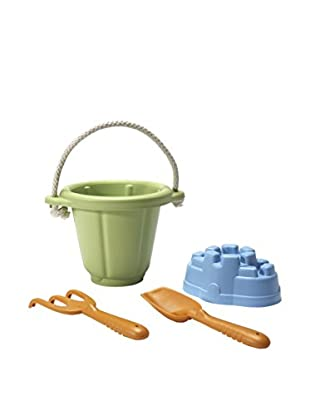 Green Toys Sand Playset, Green