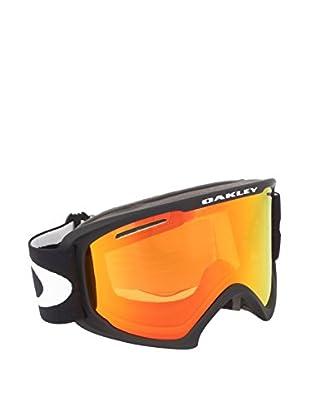 OAKLEY Skibrille 7045 schwarz matt