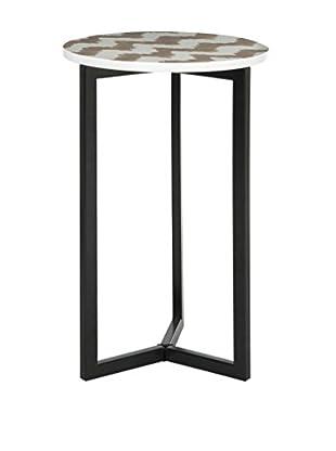 Safavieh Zaira End Table, Grey/White
