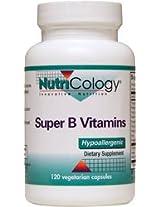 NutriCology Super B Vitamin Complex - 120 Capsules