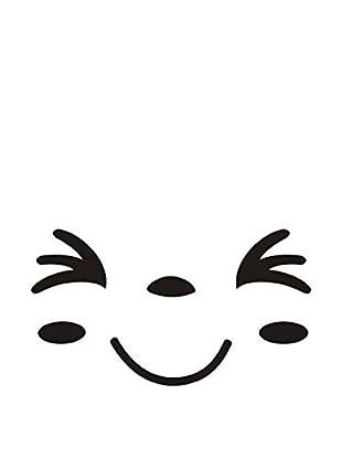 LO+DEMODA Vinilo Decorativo Wc Happy Face