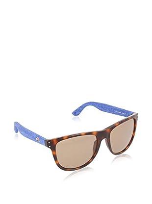 TOMMY HILFIGER Sonnenbrille 1112/IT havanna/blau