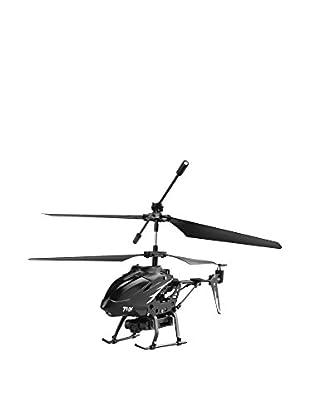 Helicóptero Radiocontrol Videocamera Negro