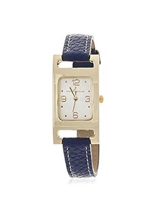 Via Nova Women's NWL289110G-NB Blue Leather Watch