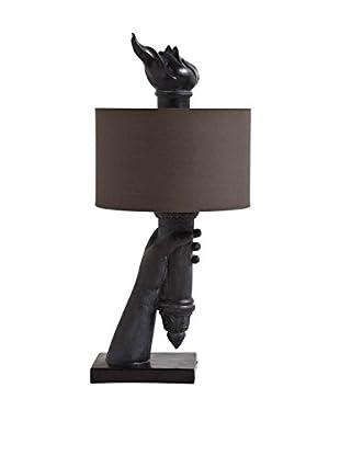 Mercana Libertad IV 1-Light Table Lamp, Black