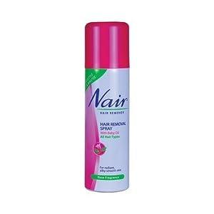 Nair Rose Hair Removal Spray, 200ml