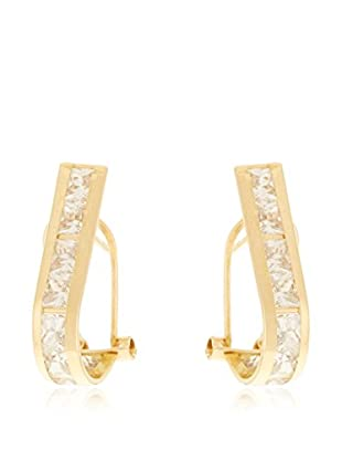 Rhapsody Pendientes Alicia oro amarillo 18 ct