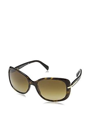 Prada Sonnenbrille 08OS (57 mm) havanna