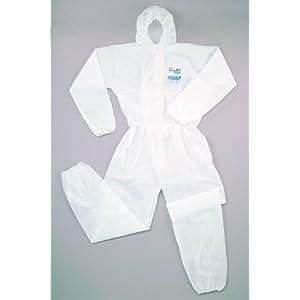 シゲマツ 使い捨て化学防護服(10着入り) XXL