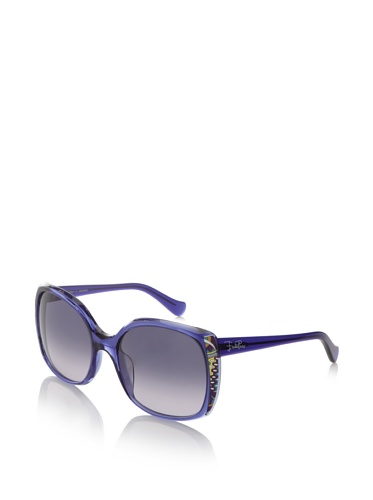 Pucci Women's EP643S Sunglasses (Midnight Blue)