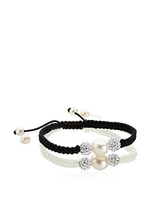 Face Me Armband-Set  schwarz/weiß