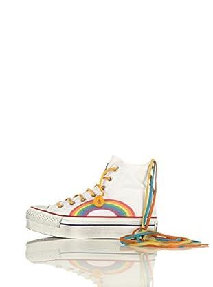 Converse Zapatillas All Star Hi Platform Canv Limited (Blanco / Multicolor)