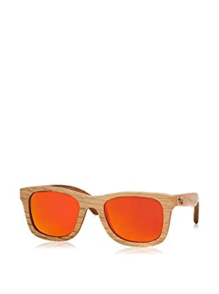 Time For Wood Sonnenbrille Polarized Caviunoo (50 mm) braun