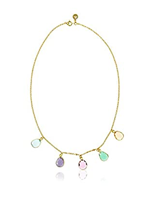 Cordoba Jewels Halskette vergoldetes Silber 925