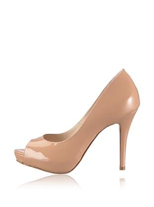 Buffalo London 19123-847 PATENT SOFT - Zapatos  mujer (Beige)