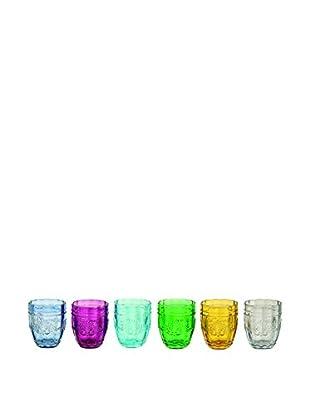 VILLA D'ESTE HOME Glas 6er Set Syrah mehrfarbig