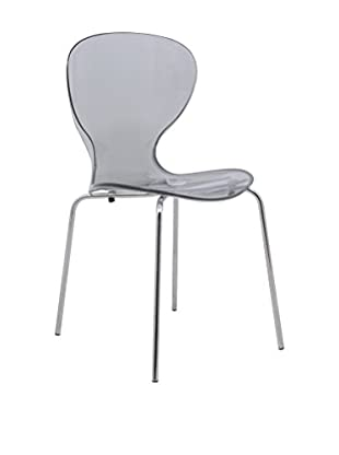 LeisureMod Modern Oyster Side Chair