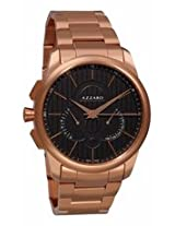 Azzaro Legend Chronograph Black Dial Rose Gold-Tone Stainless Steel Mens Watch Az2060.53Hm.000