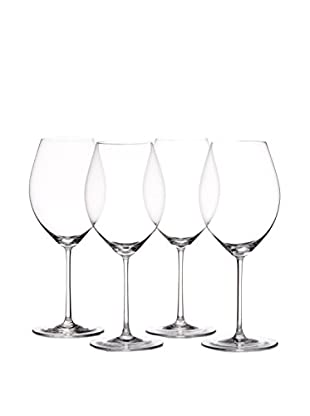 Riedel Set of 4 Hermitage 20.75-Oz. Wine Glasses, Clear