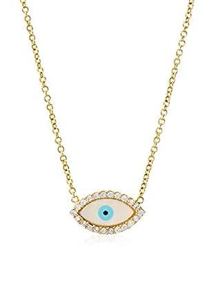 Chloe & Theodora Evil Eye Necklace