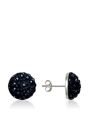 Chicstyle Ohrringe nachtblau/silber