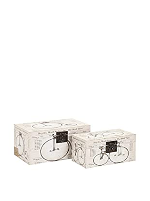 Set of 2 Buchanan Bicycle Boxes
