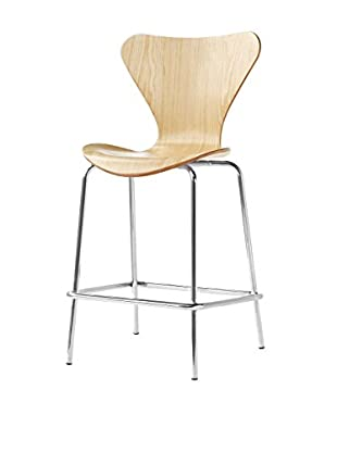 Manhattan Living Jays Counter Stool Chair, Natural