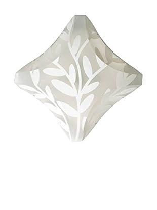 SLAMP Lámpara de Pared/Techo Plana Blanco