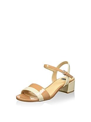 Bata 6618112 Sandali con cinturino alla caviglia, Donna, Beige, 36