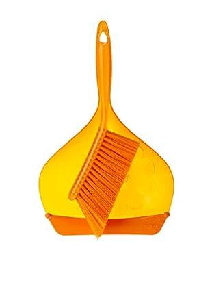 VIGAR Cepillo De Mano 2 Piezas Acqua Naranja