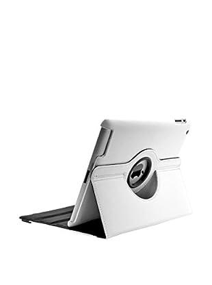 UNOTEC Hülle Rotation iPad 2 / 3 / 4 weiß