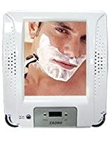 Fogless Shower Stereo Radio with Mirror & Clock