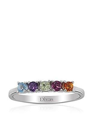 Divas Diamond Anillo Coloured Precious Stones