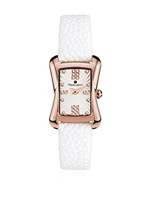 Mathieu Legrand Reloj de cuarzo Woman Blanco 22 mm