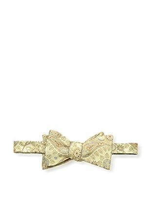 Bruno Piattelli Men's Paisley Tie, Gold