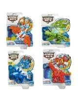 4 Pack Set Playskool Transformers Rescue Bots Boulder, Blades, Chase and Heatwave the Rescue Dinobot Figures