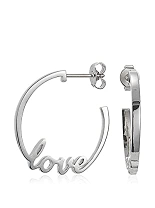 Esprit Silver Ohrringe S925 Love Message Sterling-Silber 925