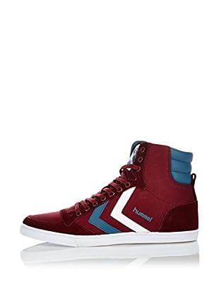 Hummel Sneaker Slimmer Stadil High (weinrot)
