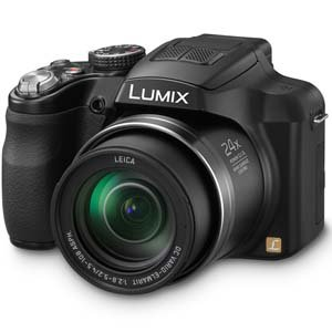 Panasonic Lumix FZ60 16.1MP Point and Shoot Camera (Black) with 24x Optical Zoom, 8GB Card and Camera Case
