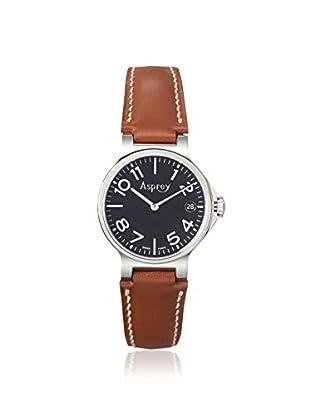 Asprey of London Men's 1013098-BR Brown/Black Stainless Steel Watch
