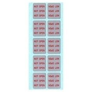 【クリックでお店のこの商品のページへ】セキュリティシール 使用禁止用 赤字 100枚 開封予防や改ざん防止に、剥がしたことが一目で分かる 200-SL007