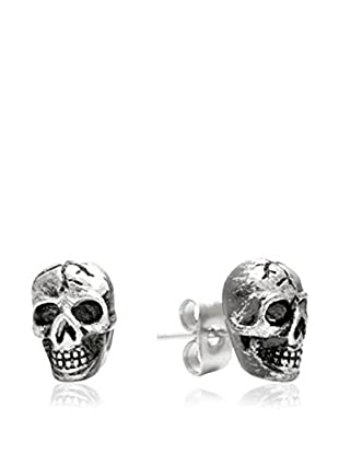 Blackjack Jewelry Ohrring Skull